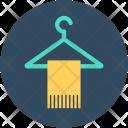 Towel Hanger On Icon