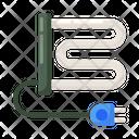 Towel Dryer Heating Radiator Heating Rails Icon