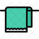 Towel Plumber Cleaning Icon