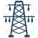 Tower Electricity Power Icon