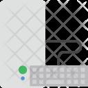 Tower Cpu Keyboard Icon