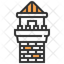 Tower Castle Fortress Icon