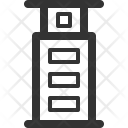 Tower Building Architecture Icon