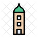 Tower Building Themepark Icon