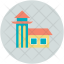 Tower Home House Icon
