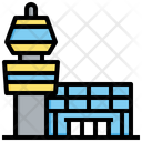 Tower Architecture And City Control Tower Icon
