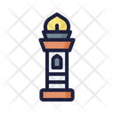 Tower Islam Building Icon