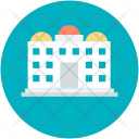 Tower Higrise Apartment Icon