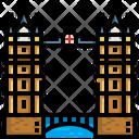 Tower Bridge London Landmark Icon