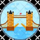 Tower Bridge Suspension Bridge Footbridge Icon
