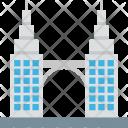 Tower Bridge Monument Icon