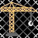 Crane Heavy Machinery Icon