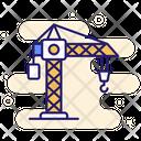 Tower Crane Construction Crane Icon