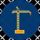 Tower Crane Machine Icon
