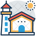 Tower House Lighthouse Icon