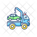 Towing Service Towing Auto Icon