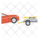 Towing Truck Roadside Assistance Recovery Vehicle Icon