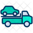 Towing Truck Vehicle Icon