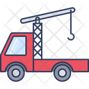 Towing Van Truck Loading Icon