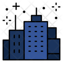 Town Fireworks Building Icon