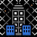 Town Cityscape Skyscrapers Icon