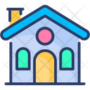 Town House Apartment Cottage Icon