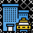 Town Taxi Icon