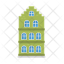 Townhouse House Home Icon