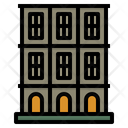 Townhouse Terraced House Icon