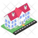 Townhouse Townhome Homestead Icon