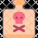 Poison Toxic Bottle Icon