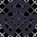 Toxic Radioactivity Nuclear Icon