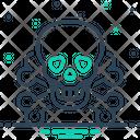 Toxic Poisonous Hazard Icon