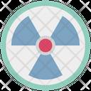 Toxic Radioactivity Symbol Nuclear Icon
