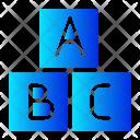 Toy Alphabet Baby Icon