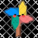 Toy Windmill Wind Icon