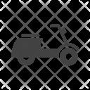 Toy bike Icon