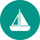 Toy boat Icon
