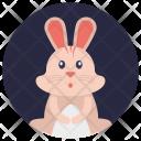 Toy Bunny Icon