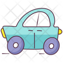 Toy Car Baby Car Vehicle Icon