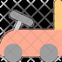 Tolocar Baby Gurney Car Icon
