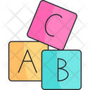 Toy Cubes Baby Icon