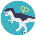 Toy Dinosaur Icon
