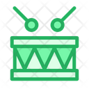 Childrens Drum Drumkit Icon