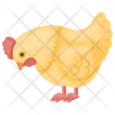 Toy Hen Plastic Hen Animal Toy Icon