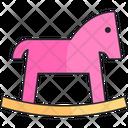 Toy Horse Girl Icon