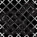 Toy Horse Childhood Horse Icon