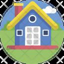 Toy House Childhood Children Icon