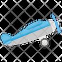 Toy Plane Plastic Toy Kids Plane Icon