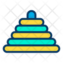Toy pyramid Icon